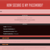 Do you know how secure is your password?