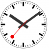 A swiss railway clock in D3.js